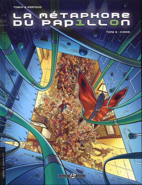 La métaphore du papillon T2 : Chaos (0), bd chez Bamboo de Pernoud, Toshy, Alquier