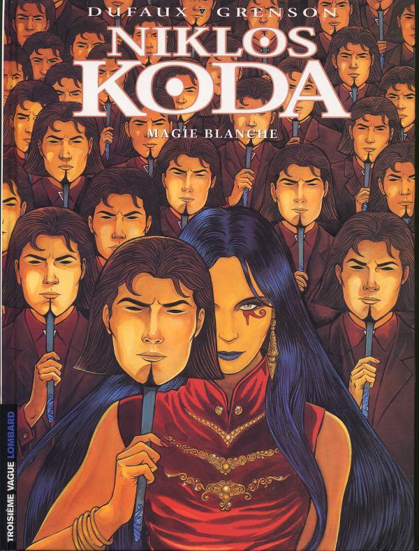Niklos Koda T7 : Magie Blanche (0), bd chez Le Lombard de Dufaux, Grenson, Denoulet