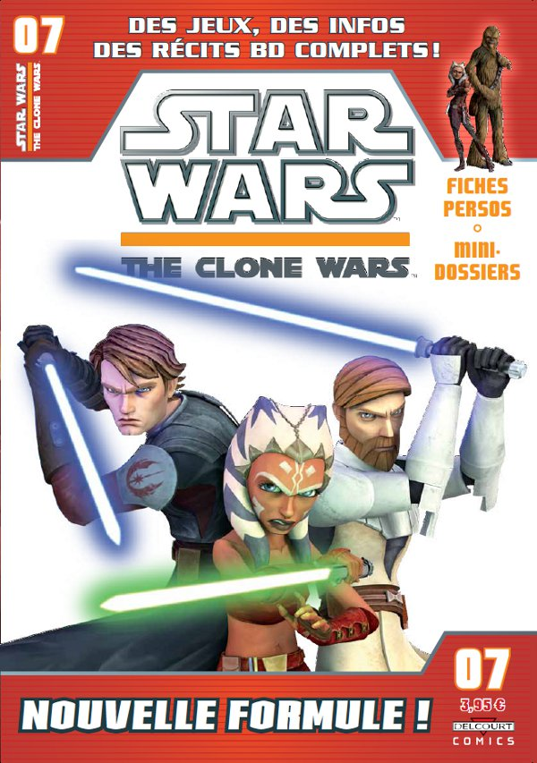 Star Wars (revue) – The clone wars, T7, comics chez Delcourt de Etherington, Hoskin, Sniley, Ponce, Digikore studio