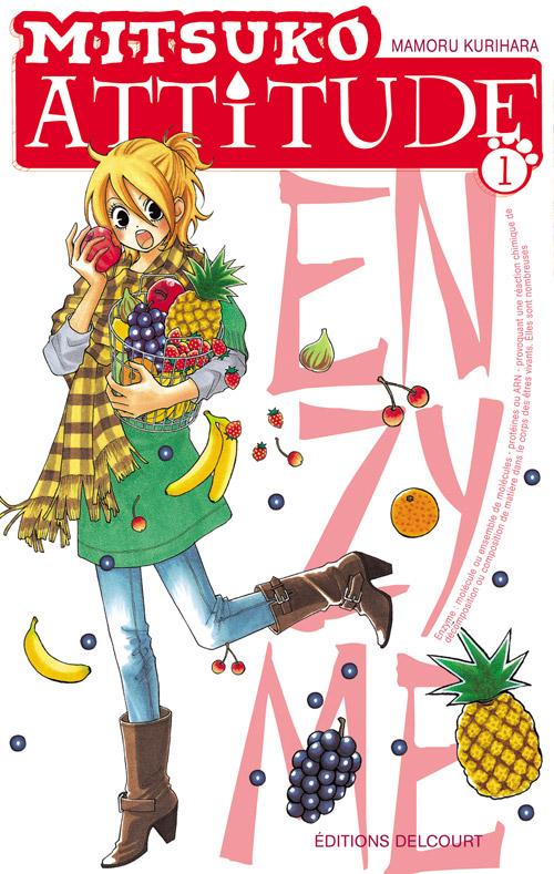 Mitsuko attitude T1, manga chez Delcourt de Kurihara