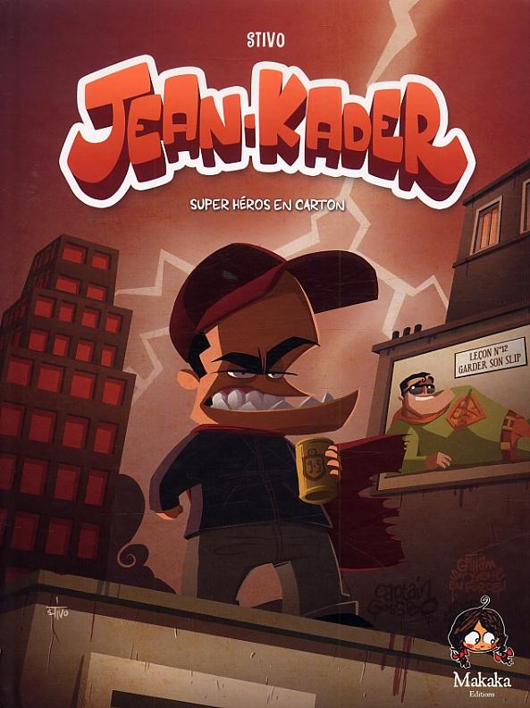 Jean-Kader : Super héros en carton (0), bd chez Makaka éditions de Stivo