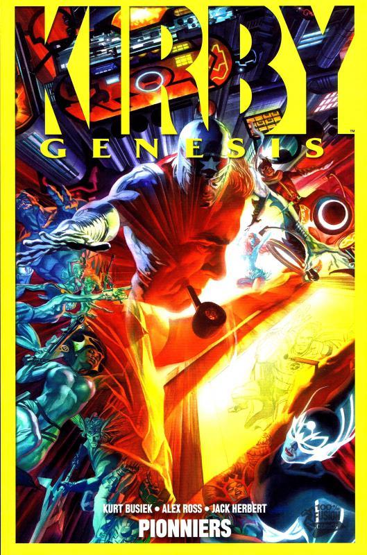 Kirby Genesis T1 : Pionniers (0), comics chez Panini Comics de Ross, Busiek, Herbert