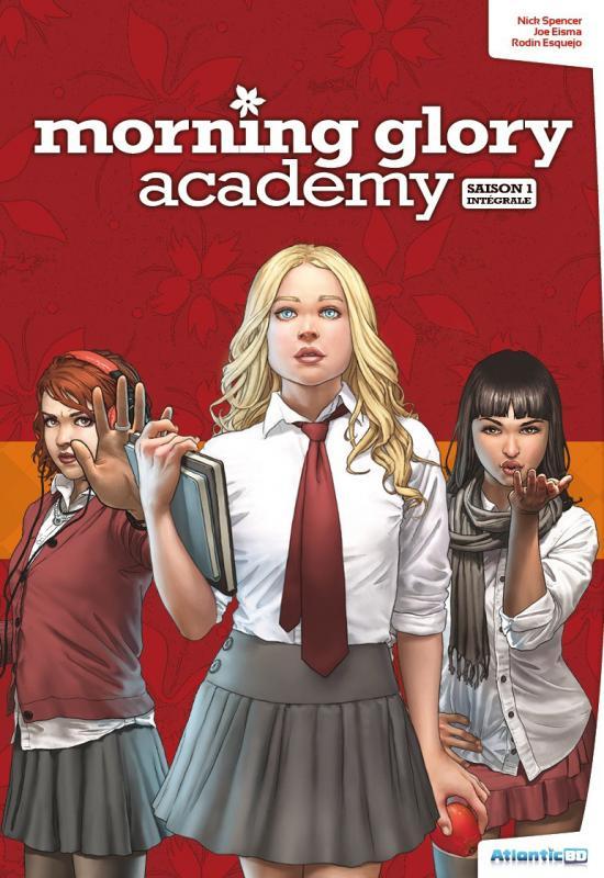 Morning glory academy T1 : Saison 1 (0), comics chez Atlantic de Spencer, Eisma, Sollazzo, Esquejo