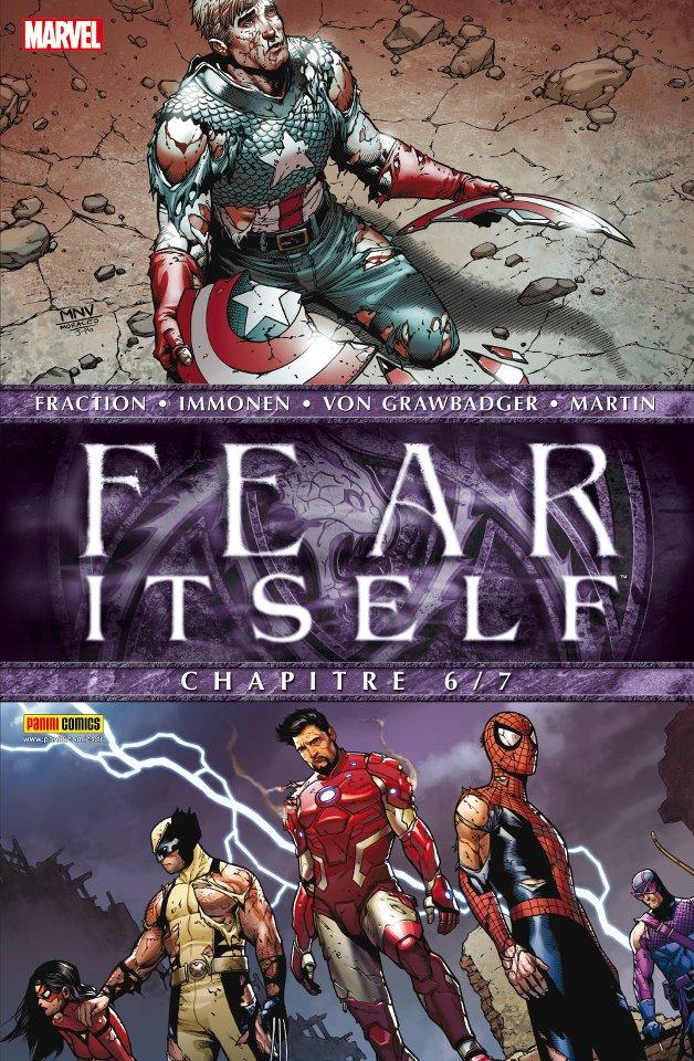 Fear Itself T6 : Blood-tied and doomed (0), comics chez Panini Comics de Fraction, Kalan, Chaykin, Spurrier, Templeton, Latour, Immonen, Curiel, Delgado, Martin, McNiven