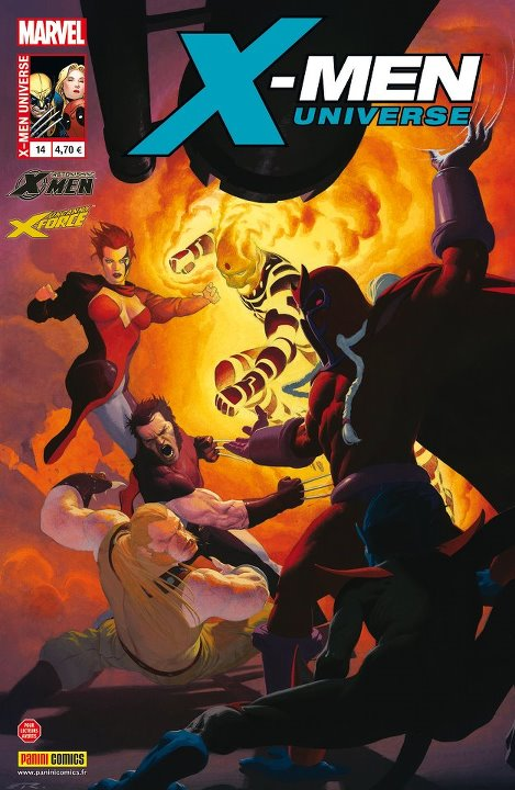 X-Men Universe – Revue V 1, T14 : La saga de l'ange noir (1/4) (0), comics chez Panini Comics de Way, Fialkov, Remender, Yost, Medina, Talajic, Brooks, Bradshaw, Harren, Campbell, Rosenberg, Gracia, White, Quintana, Ribic