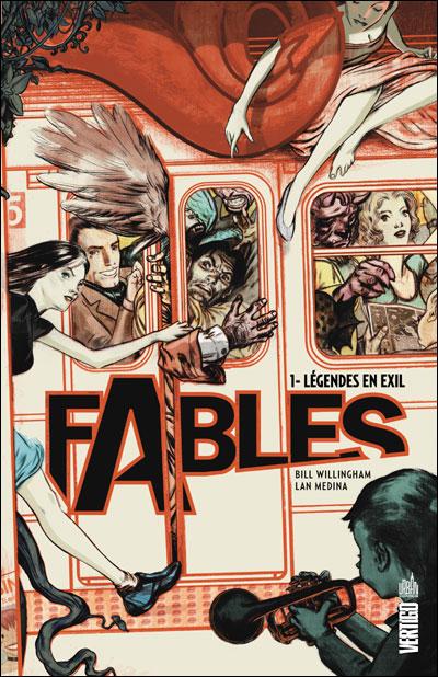 Fables – Hardcover, T1 : Légendes en exil (0), comics chez Urban Comics de Willingham, Medina, Van Valkenburg, Jean