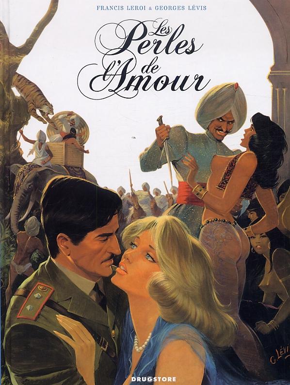 Les Perles de l'amour, bd chez Drugstore de Leroi, Lévis
