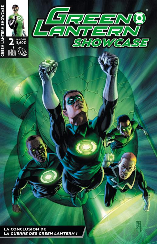Green Lantern - Showcase T2, comics chez Urban Comics de Tomasi, Bedard, Johns, Kirkham, Pasarin, Mahnke, Eltaeb, Reis, Ruffino, Mayor, Jones