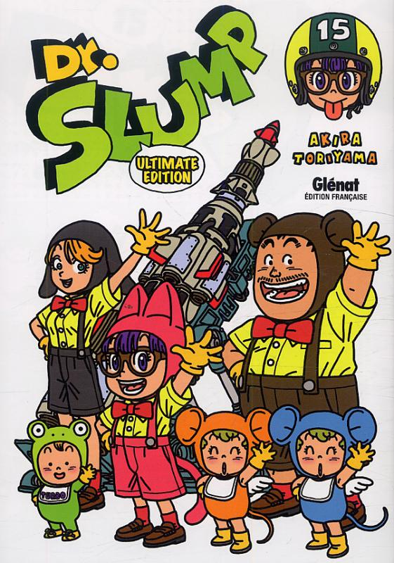 Dr Slump – Ultimate edition, T15, manga chez Glénat de Toriyama