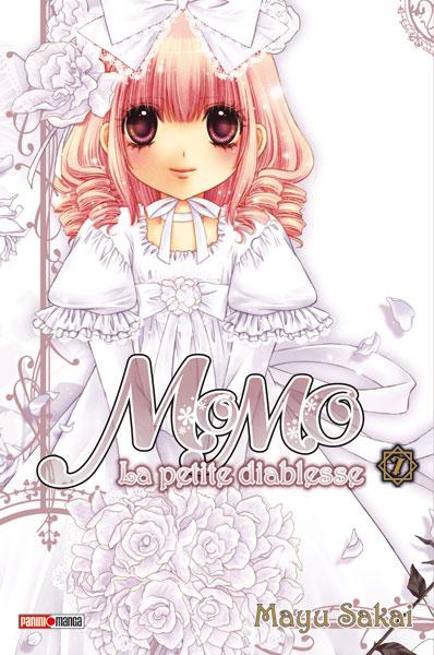 Momo la petite diablesse T7, manga chez Panini Comics de Sakai