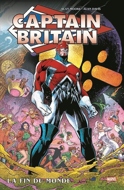 Captain Britain : La fin du monde (0), comics chez Panini Comics de Moore, Davis, Digital Chameleon
