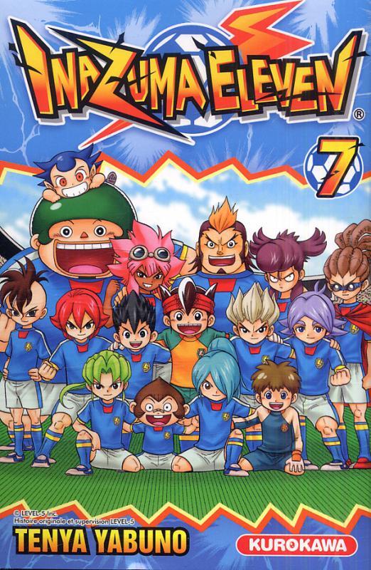 Inazuma eleven T7, manga chez Kurokawa de Yabuno