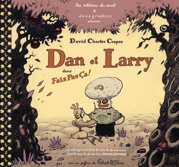 Dan & Larry dans Fais pas ça !, comics chez Seuil de Cooper