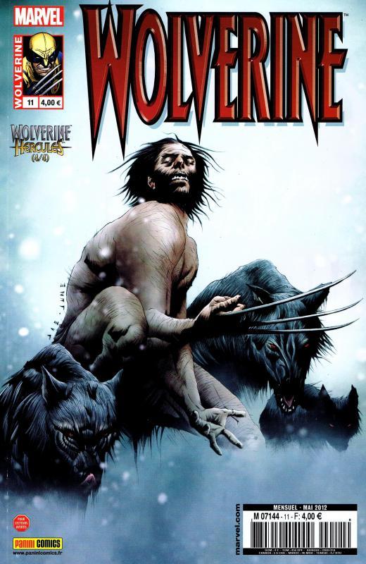 Wolverine (revue) – Revue V 2, T11 : Mythes, monstres et mutants (4/4) (0), comics chez Panini Comics de Tieri, Aaron, Santacruz, Sudzuka, Wilson, Baumann, Lee