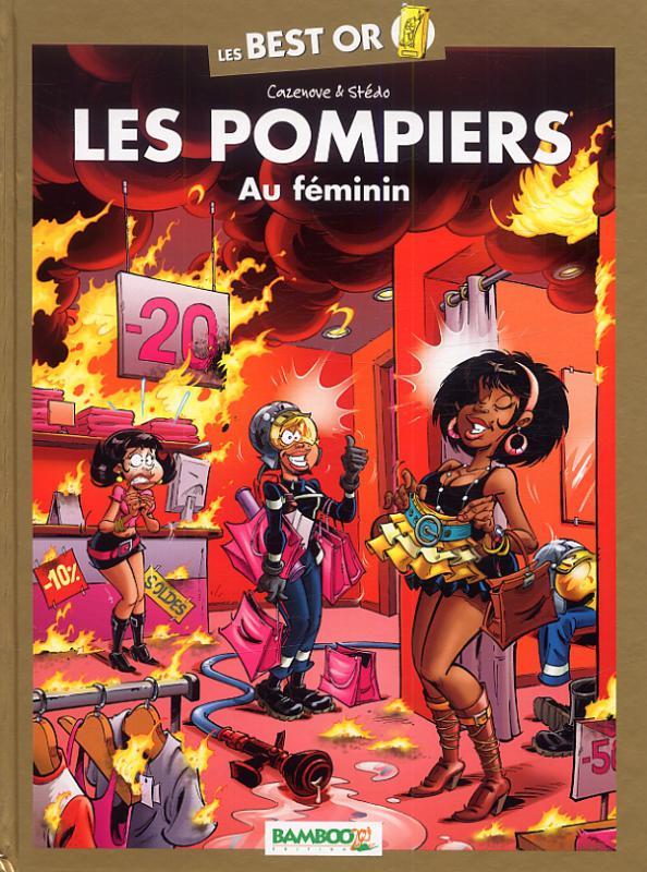 Les pompiers : Au féminin (0), bd chez Bamboo de Cazenove, Stédo, Favrelle