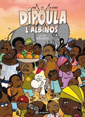 Dipoula T3 : La Vie gabonaise (0), bd chez Paquet de Devaud, Sti, Pahé