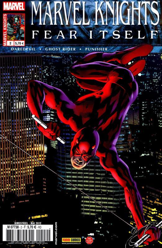 Marvel Knights T2 : Briser les chaines (0), comics chez Panini Comics de Williams, Rucka, Waid, Martin, Checchetto, Clarke, Rivera, Rodriguez, Vicente, Hollingsworth, Schwager, Hitch