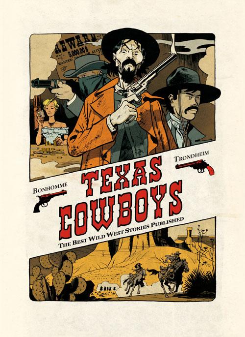 Texas Cowboys T1, bd chez Dupuis de Trondheim, Bonhomme
