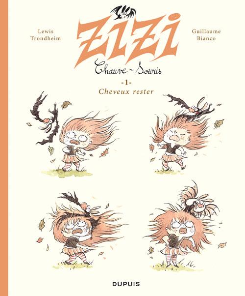 Zizi chauve-souris T1 : Cheveux rester (0), bd chez Dupuis de Trondheim, Bianco