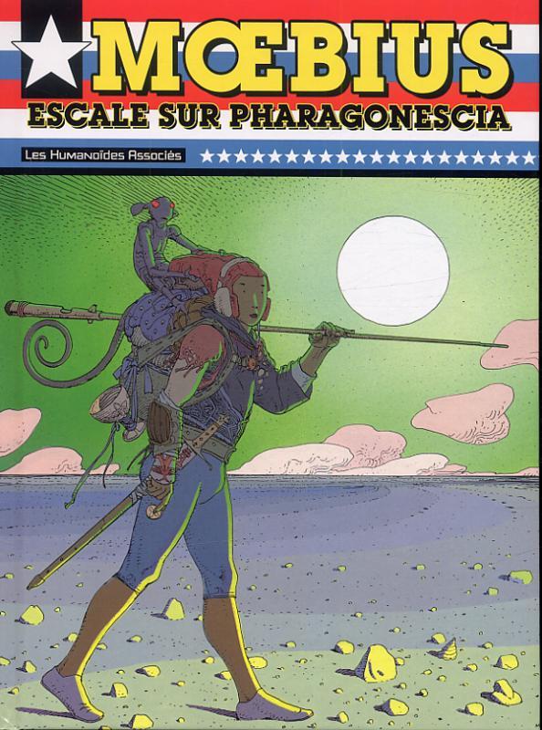 Mœbius USA : Escale sur Pharagonescia (0), comics chez Les Humanoïdes Associés de Moebius