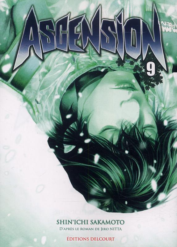 Ascension T9, manga chez Delcourt de Nabeta, Nitta, Sakamoto