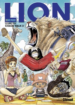 One piece - Color walk T3 : Lion (0), manga chez Glénat de Oda