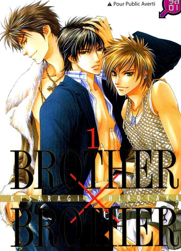 Brother x brother T1, manga chez Taïfu comics de Kisaragi