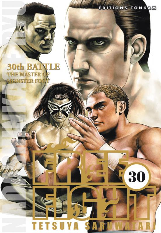 Free Fight - New tough T30, manga chez Tonkam de Saruwatari