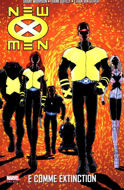 New X-Men T1 : E comme Extinction (0), comics chez Panini Comics de Morrison, Van sciver, Quitely, Yu, Kordey, Hi-Fi Design, Haberlin, Alanguilan