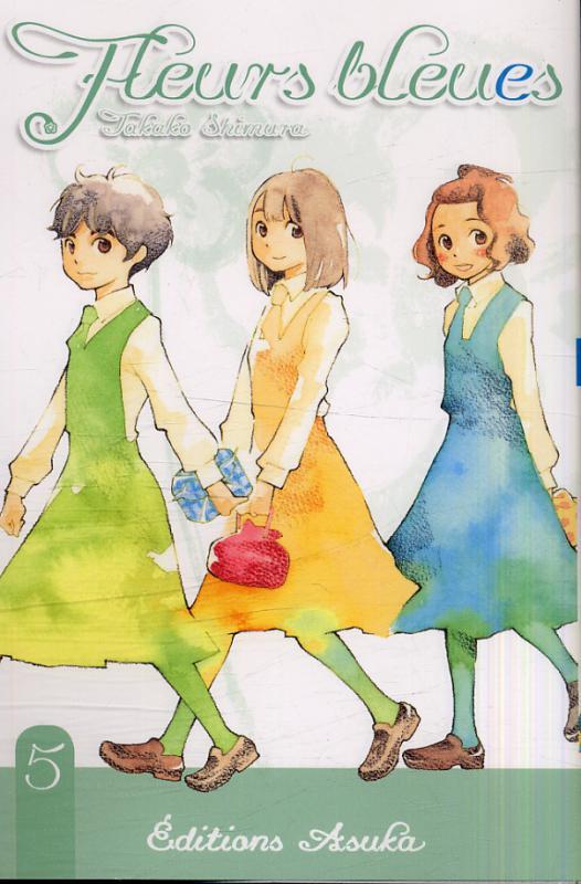 Fleurs bleues T5, manga chez Asuka de Shimura