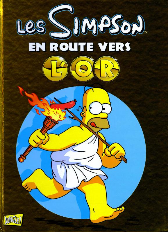 Les Simpson : En route vers l'or (0), comics chez Jungle de Groening, Morrison, Hammersley, Tran, Ungar