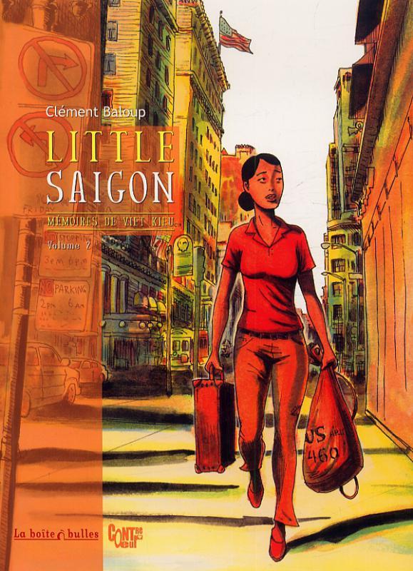 Mémoires de Viet Kieu T2 : Little Saïgon (0), bd chez La boîte à bulles de Baloup, Jiro