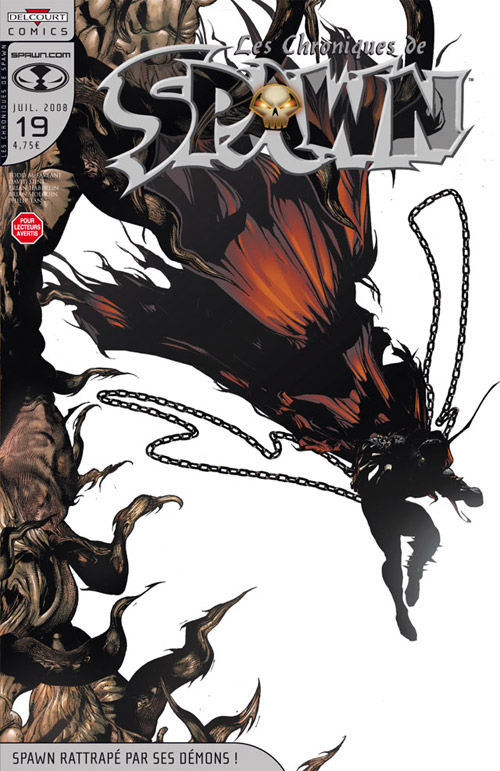 Les chroniques de Spawn T19 : Spawn rattrapé par ses démons ! (0), comics chez Delcourt de Hine, Holguin, Tan, Van Dyke, Haberlin, Troy, Hannin