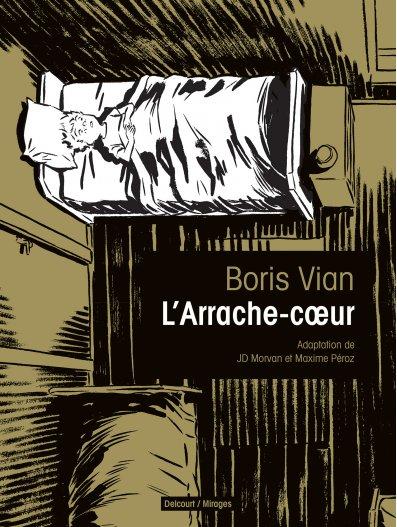 L'Arrache-coeur, bd chez Delcourt de Voulyzé, Morvan, Péroz
