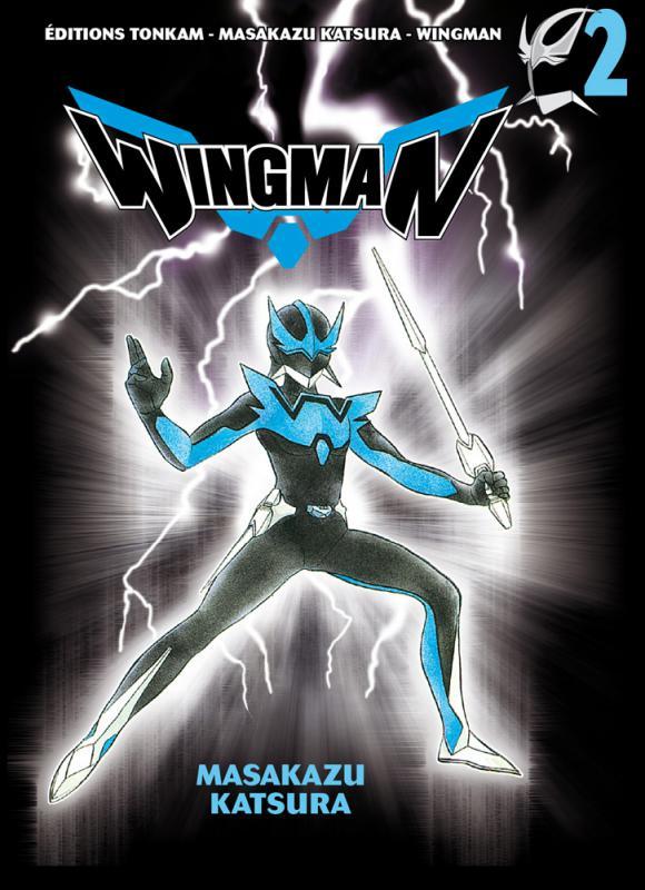 Wingman T2, manga chez Tonkam de Katsura