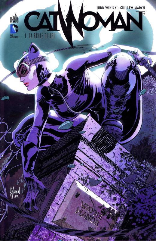 Catwoman – New 52, T1 : La règle du jeu (0), comics chez Urban Comics de Winick, March, Morey