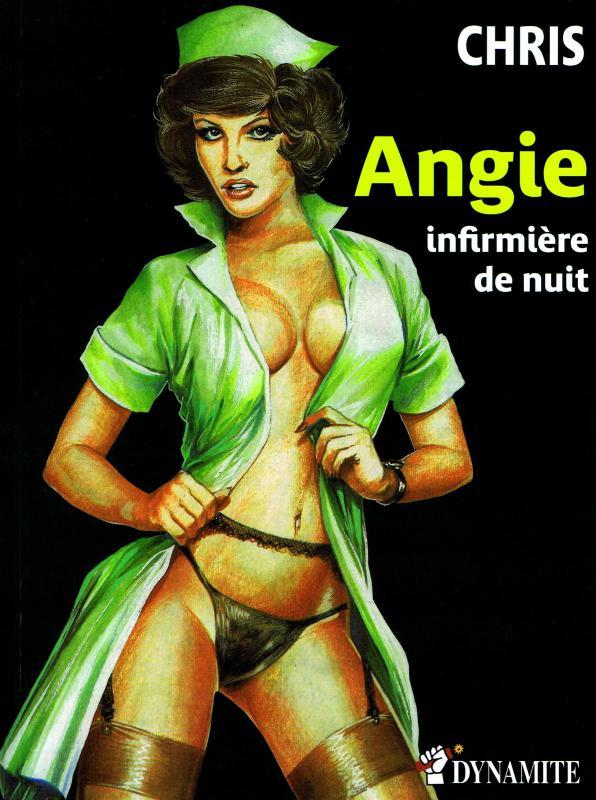 Angie infirmière de nuit, bd chez Dynamite de Chris