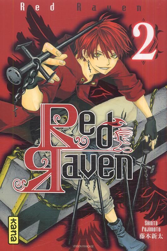 Red raven T2, manga chez Kana de Fujimoto