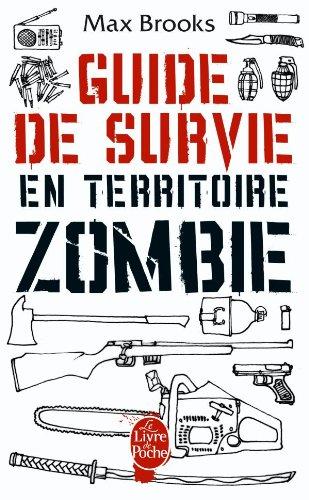 Guide de survie en territoire zombie, comics chez Le livre de poche de Brooks