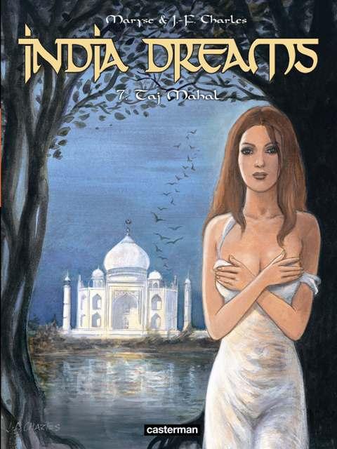 India Dreams – cycle 2, T7 : Taj Mahal (0), bd chez Casterman de Charles, Charles