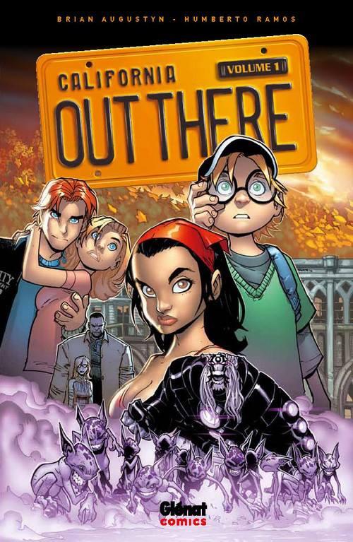 Out There T1, comics chez Glénat de Augustyn, Ramos, Studio F