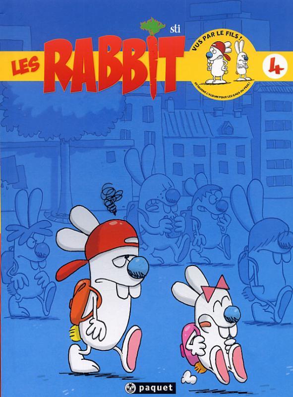 Les rabbit T4 : Pas du matin ! (0), bd chez Paquet de Sti, Gonzalez, Ruiz