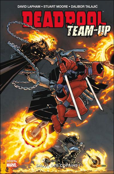 Deadpool Team-up T1 : Salut, les copains ! (0), comics chez Panini Comics de Benson, Lapham, Long, Moore, Glass, Williams, Barbieri, Scalera, Talajic, Staggs, Crystal, Wilson, Tikulin, Rauch, Campanella, Gracia, Brown, Ramos