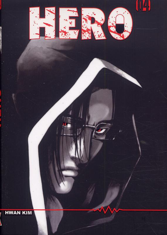 Hero T4, manga chez Booken Manga de Kim