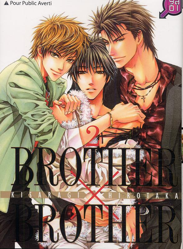 Brother x brother T2, manga chez Taïfu comics de Kisaragi