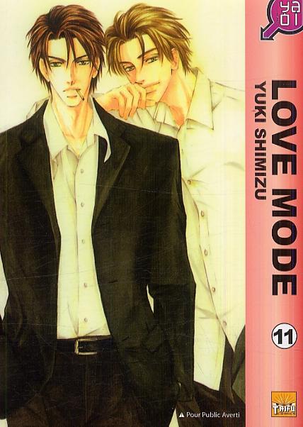 Love mode T11, manga chez Taïfu comics de Shimizu
