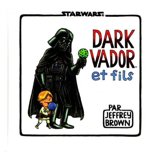 Dark Vador et fils, comics chez Huginn & Muninn de Brown