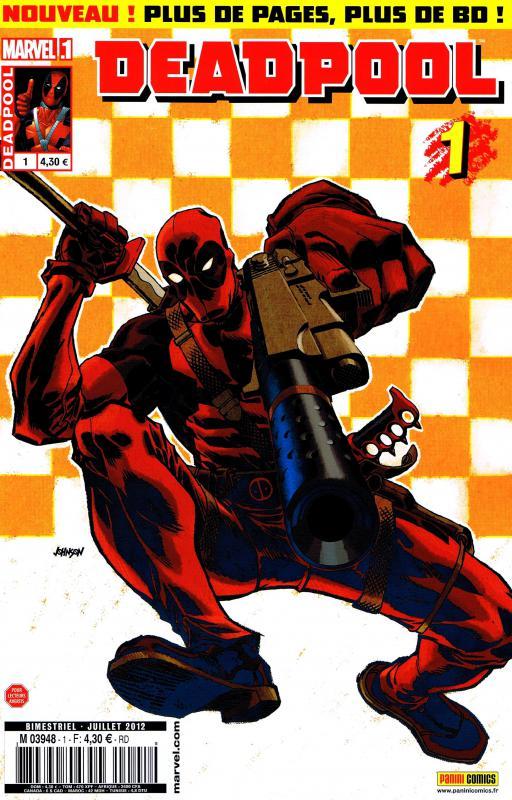 Deadpool (revue) – V 3, T1 : Gros dur (0), comics chez Panini Comics de Bunn, Way, Dazo, Stanton, Vella, Rauch, Mossa, Johnson