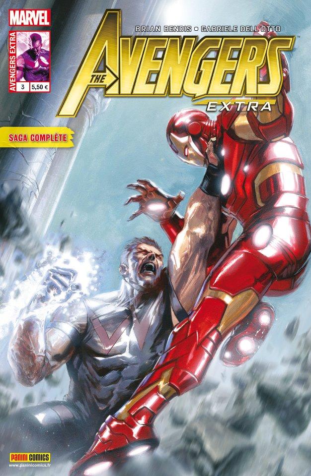 Avengers Extra T3 : La fin des Vengeurs ? (0), comics chez Panini Comics de Bendis, Dell'otto, Svorcina