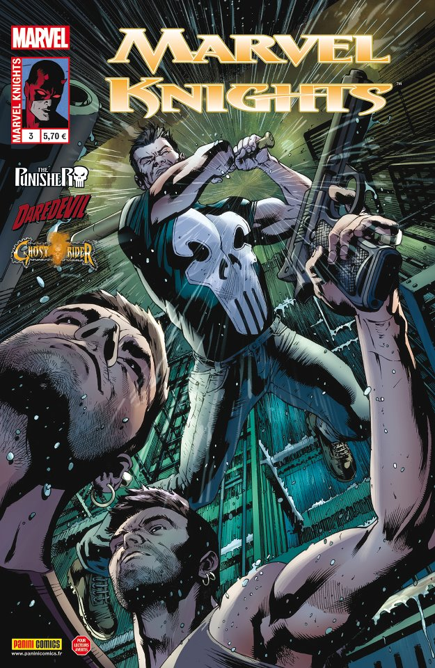 Marvel Knights T3 : Secrets de famille (0), comics chez Panini Comics de Williams, Rucka, Waid, Martin, Garbett, Clarke, Checchetto, Rodriguez, Hollingsworth, Vicente, Schwager, Hitch